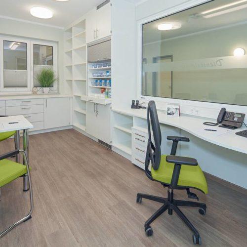Büro individuell eingerichtet