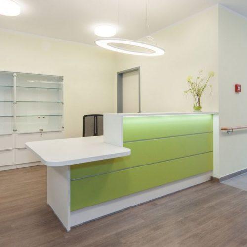 Pflegeheim Empfangsbereich