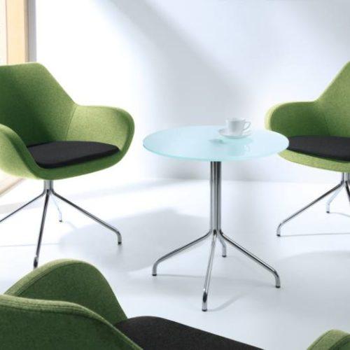 Stühle Grün Stoff