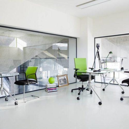 Büro Grün/Schwarz
