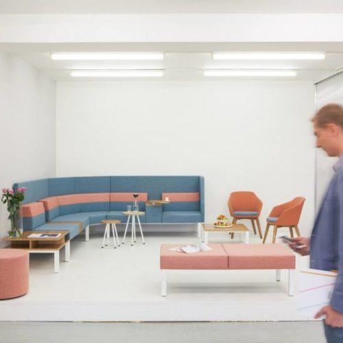 Couch, Sessel und Hocker Wartebereich