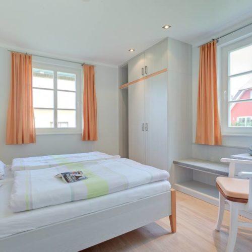 Schlafzimmer individuell eingerichtet