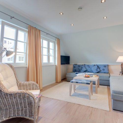 Ferienhauszimmer Blau