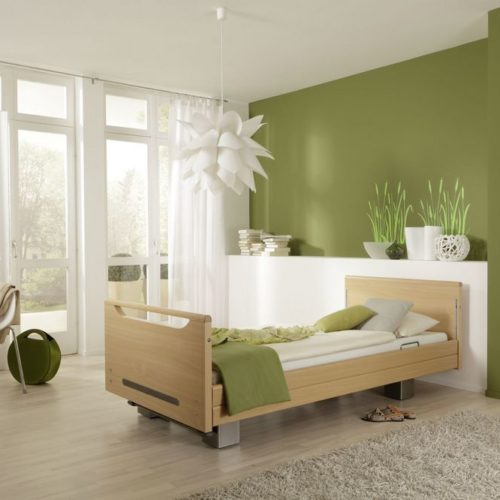 Tagespflege Schlafzimmer Grün