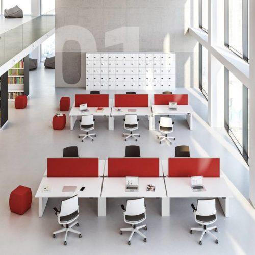 Bibliothek Stühle