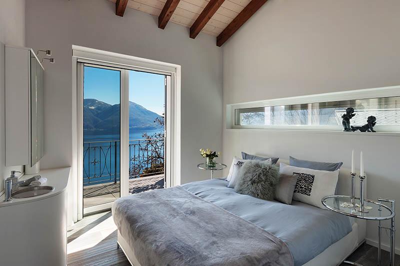 Schlafzimmer Blau/Grau