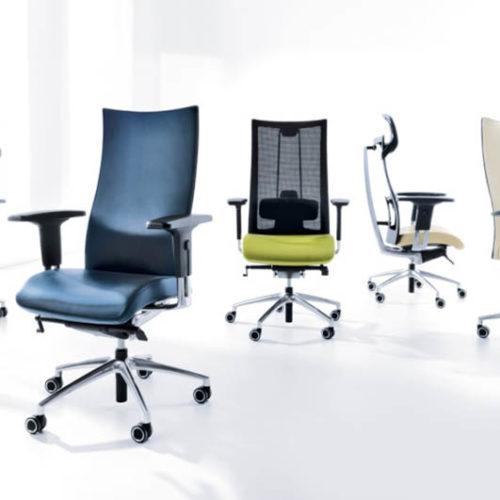 Bürostühle verschiedene Modelle