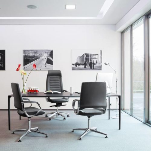 Bürostühle Schwarz