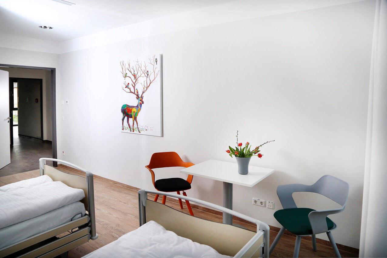 Moderne Einrichtung Klinik