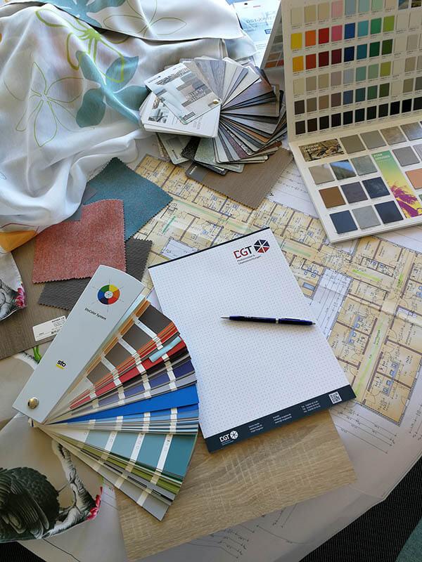 Objekteinrichtung Planung