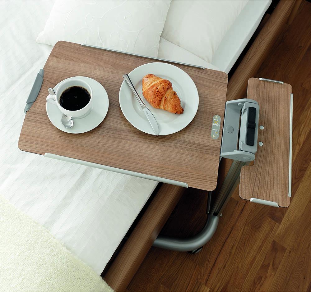 Krankenbett Esstisch