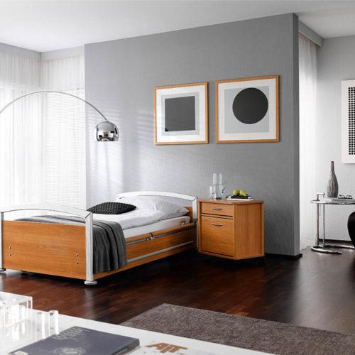 Krankenzimmer Schwarz/Weiß